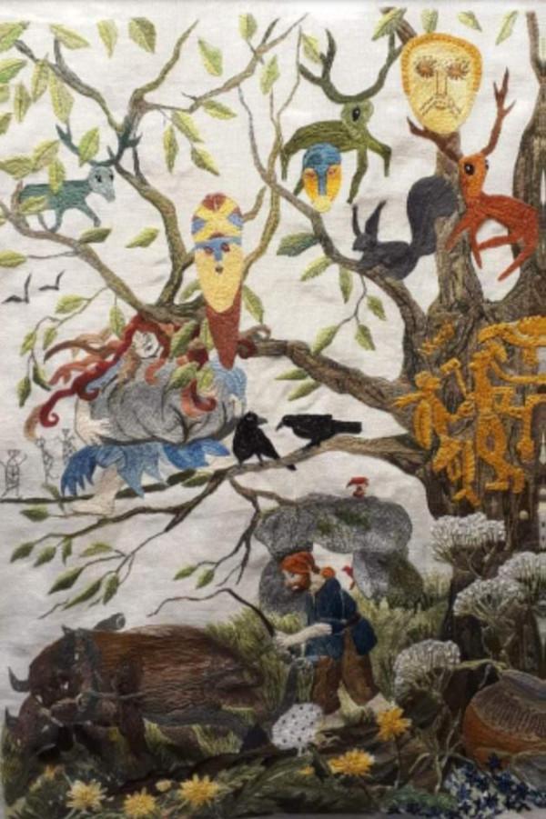 Hesselager tæppet og dets historie